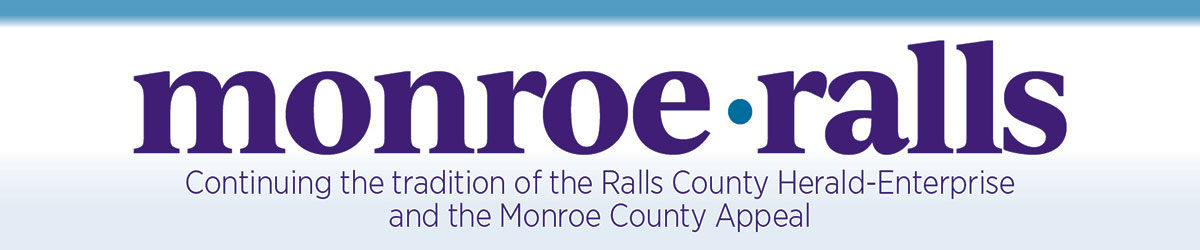Monroe County Appeal & Ralls County Herald-Enterprise, Serving the communities of Monroe and Ralls Counties since 1867